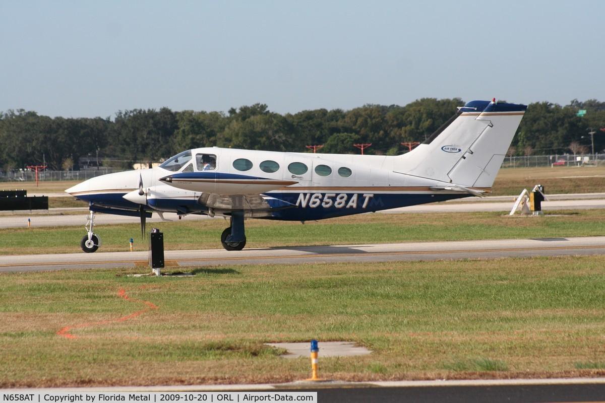 N658AT, 1973 Cessna 414 C/N 414-0406, C414