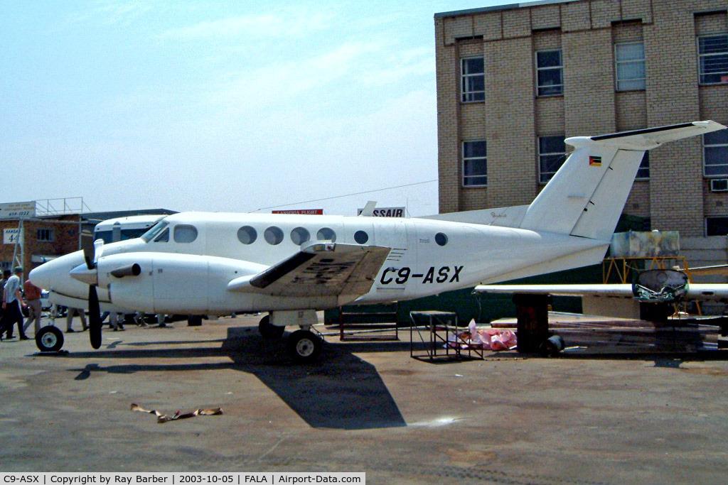 C9-ASX, 1983 Beech 200C Super King Air C/N BL-32, Beech 200 Super King Air [BL-32] Lanseria~ZS 05/10/2003