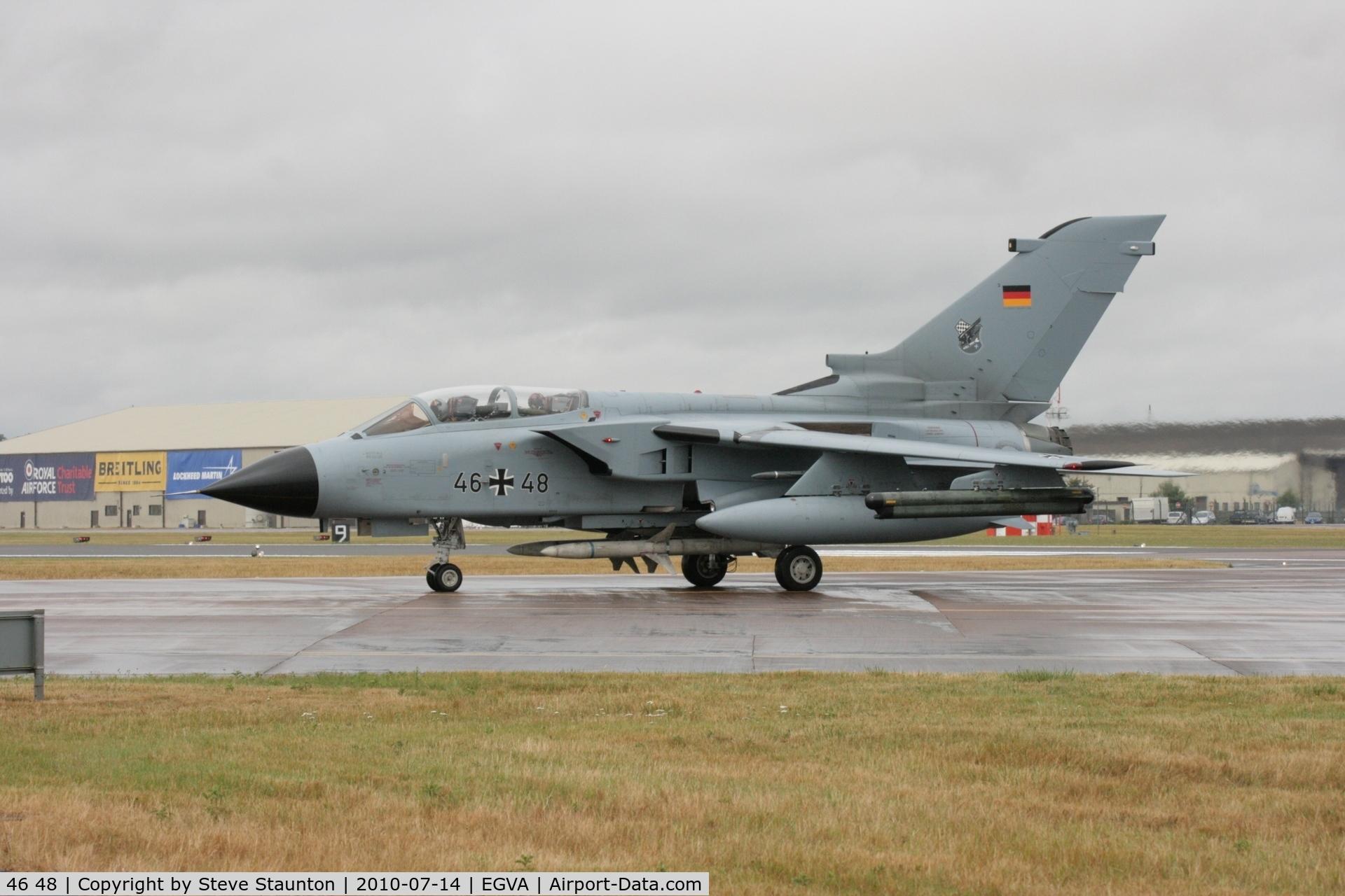 46 48, Panavia Tornado ECR C/N 881/GS281/4348, Taken at the Royal International Air Tattoo 2010