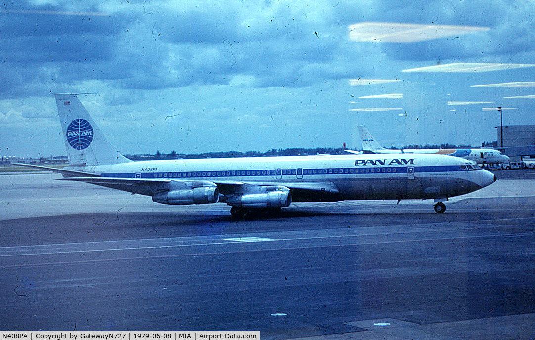 N408PA, 1965 Boeing 707-321B C/N 18839, Clipper Morning Star.