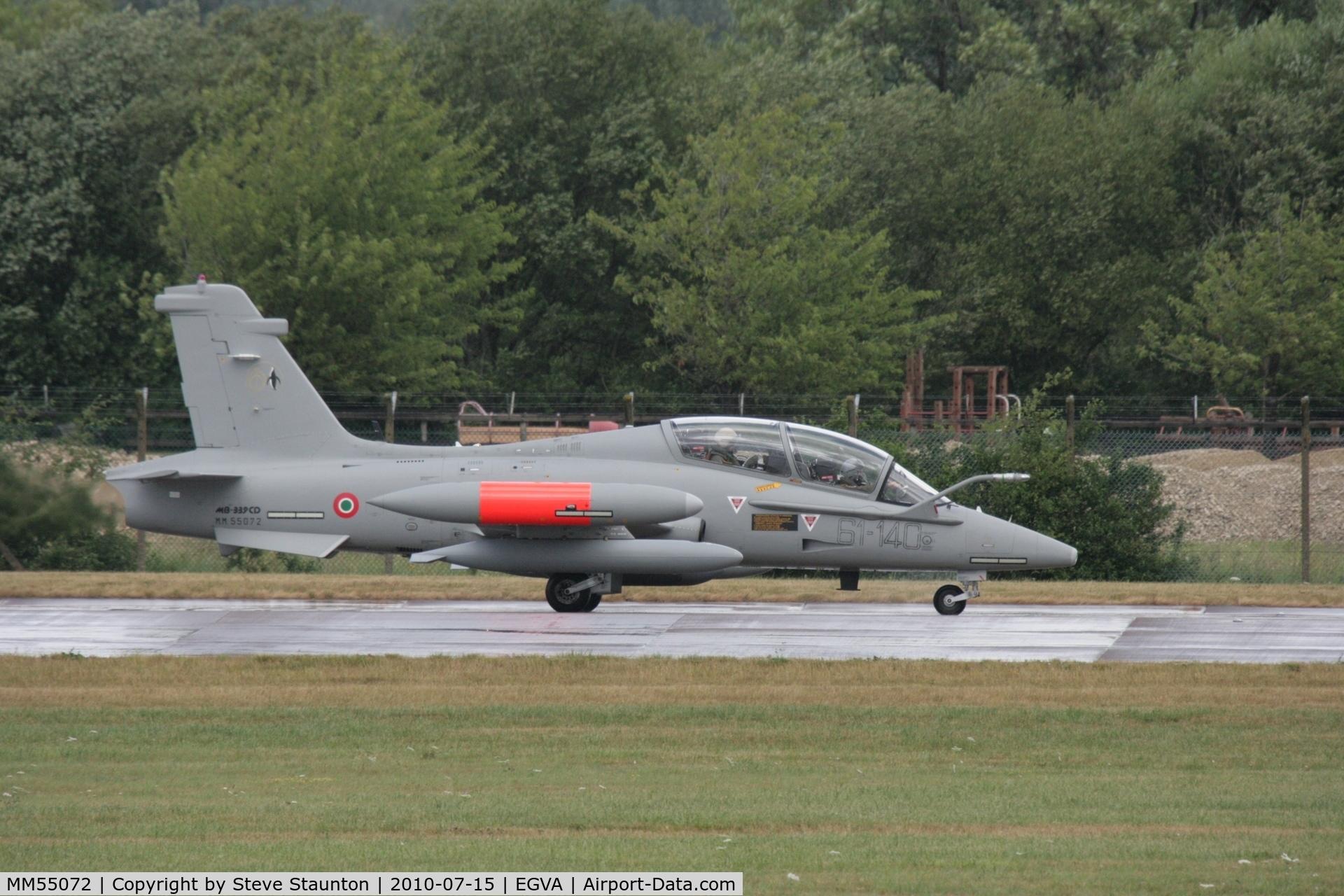 MM55072, Aermacchi MB-339CD C/N 6876/204/CD011, Taken at the Royal International Air Tattoo 2010