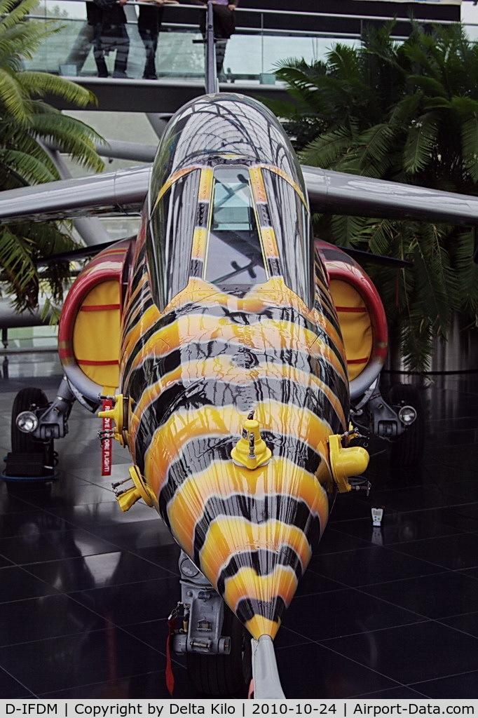 D-IFDM, Dassault-Dornier Alpha Jet A C/N 0090, Flying Bulls Hangar 7 Dornier Alpha JetAJETc/nA90