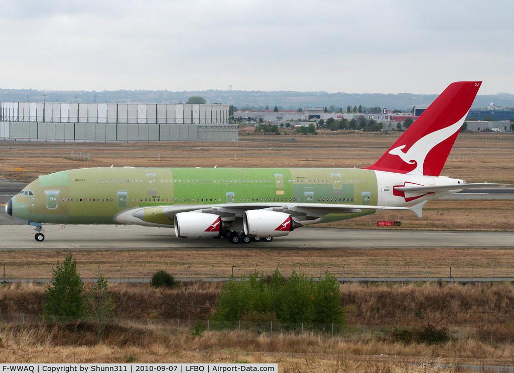 F-WWAQ, 2010 Airbus A380-842 C/N 062, C/n 0062 - For Qantas