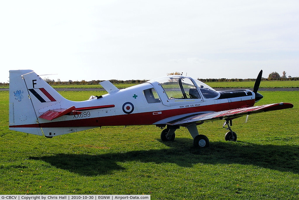 G-CBCV, 1975 Scottish Aviation Bulldog T.1 C/N BH.120/348, at the