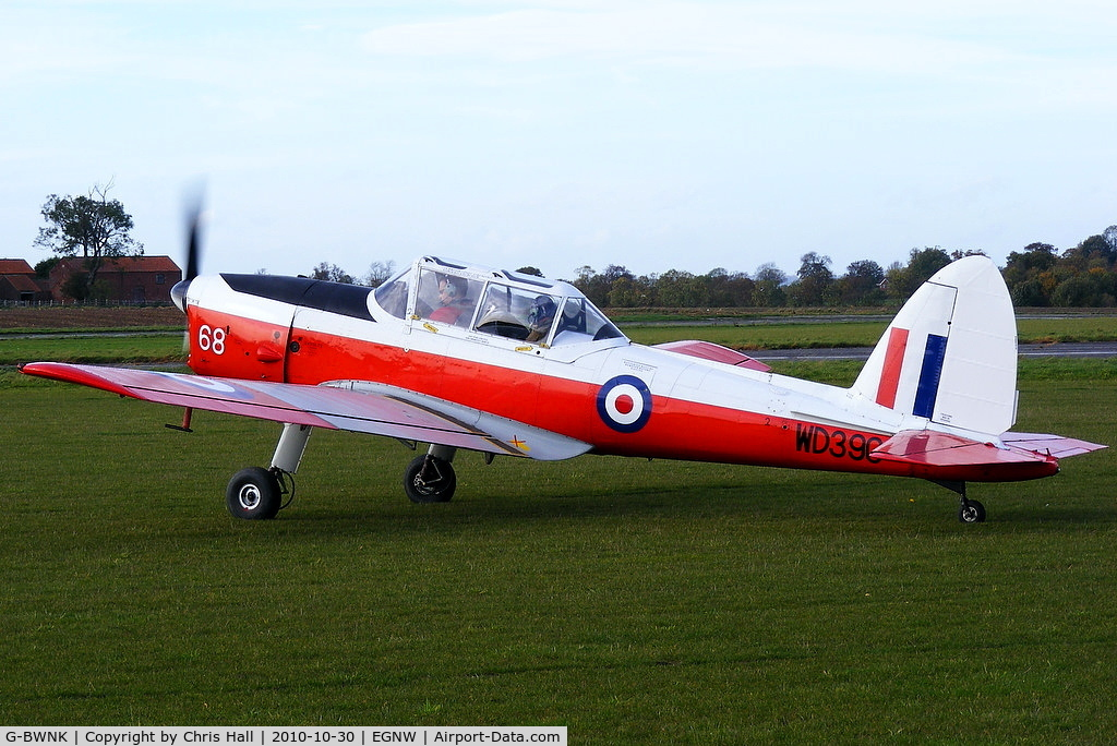G-BWNK, 1951 De Havilland DHC-1 Chipmunk T.10 C/N C1/0317, at the