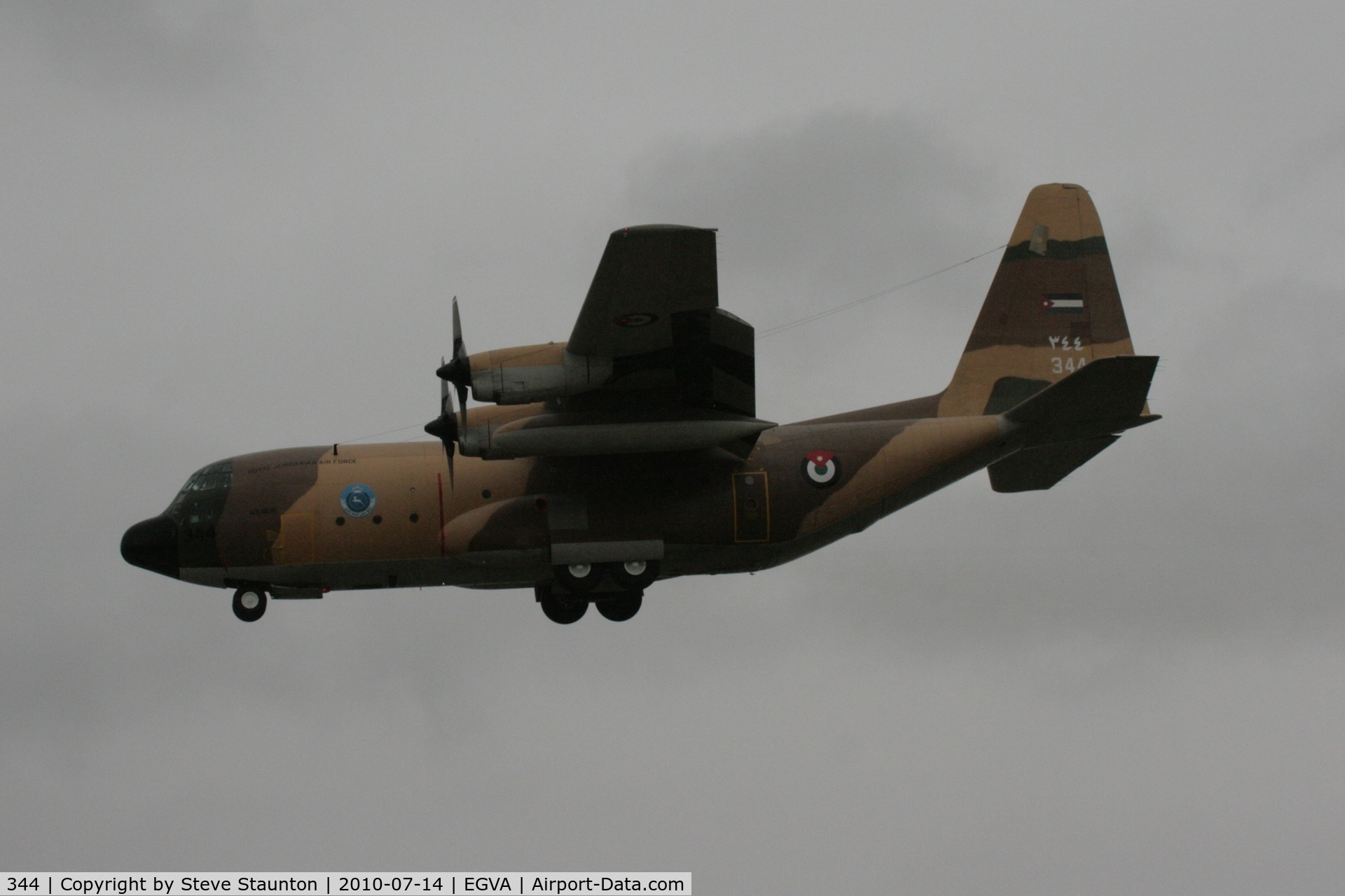 344, 1978 Lockheed C-130H Hercules C/N 382-4779, Taken at the Royal International Air Tattoo 2010