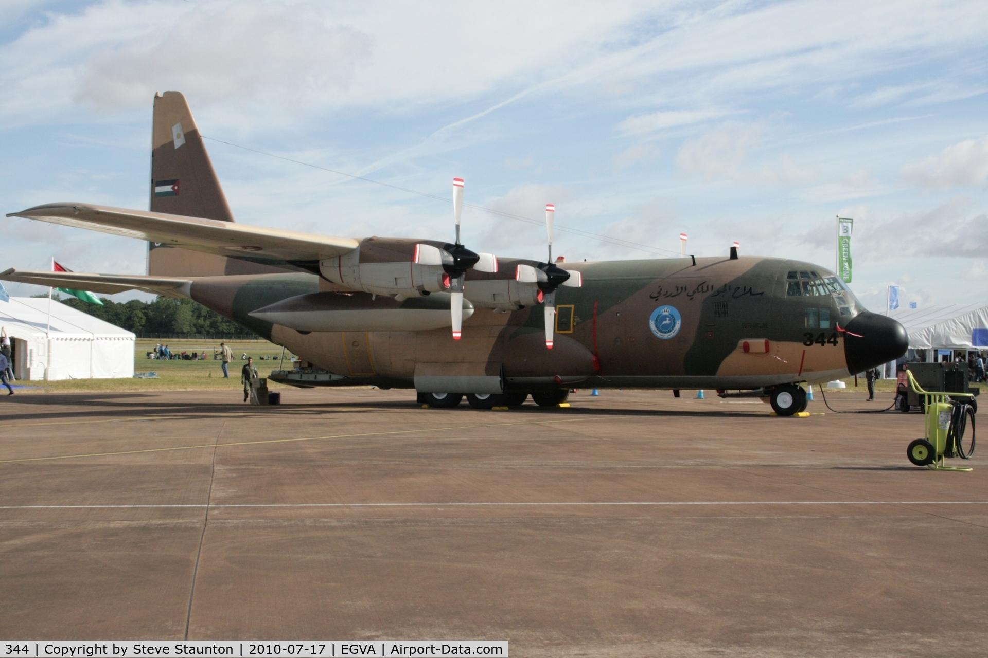 344, 1978 Lockheed C-130H Hercules C/N 382-4779, Taken at the Royal International Air Tattoo 2010