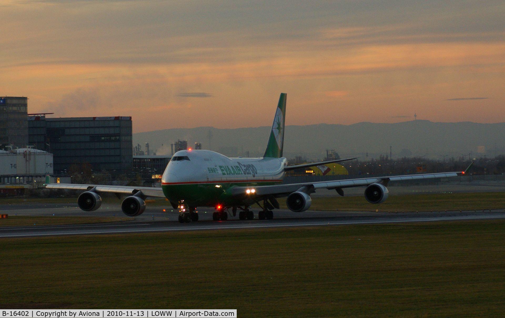 B-16402, 1992 Boeing 747-45E C/N 27063, B-16302 @ VIE