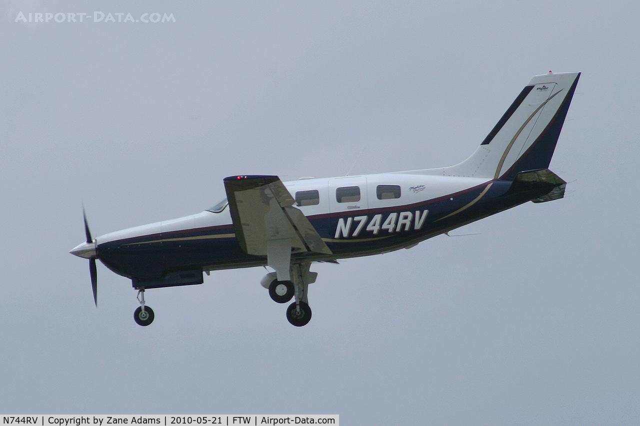 N744RV, 2003 Piper PA-46-350P Malibu Mirage C/N 4636342, At Meacham Field - Fort Worth, TX