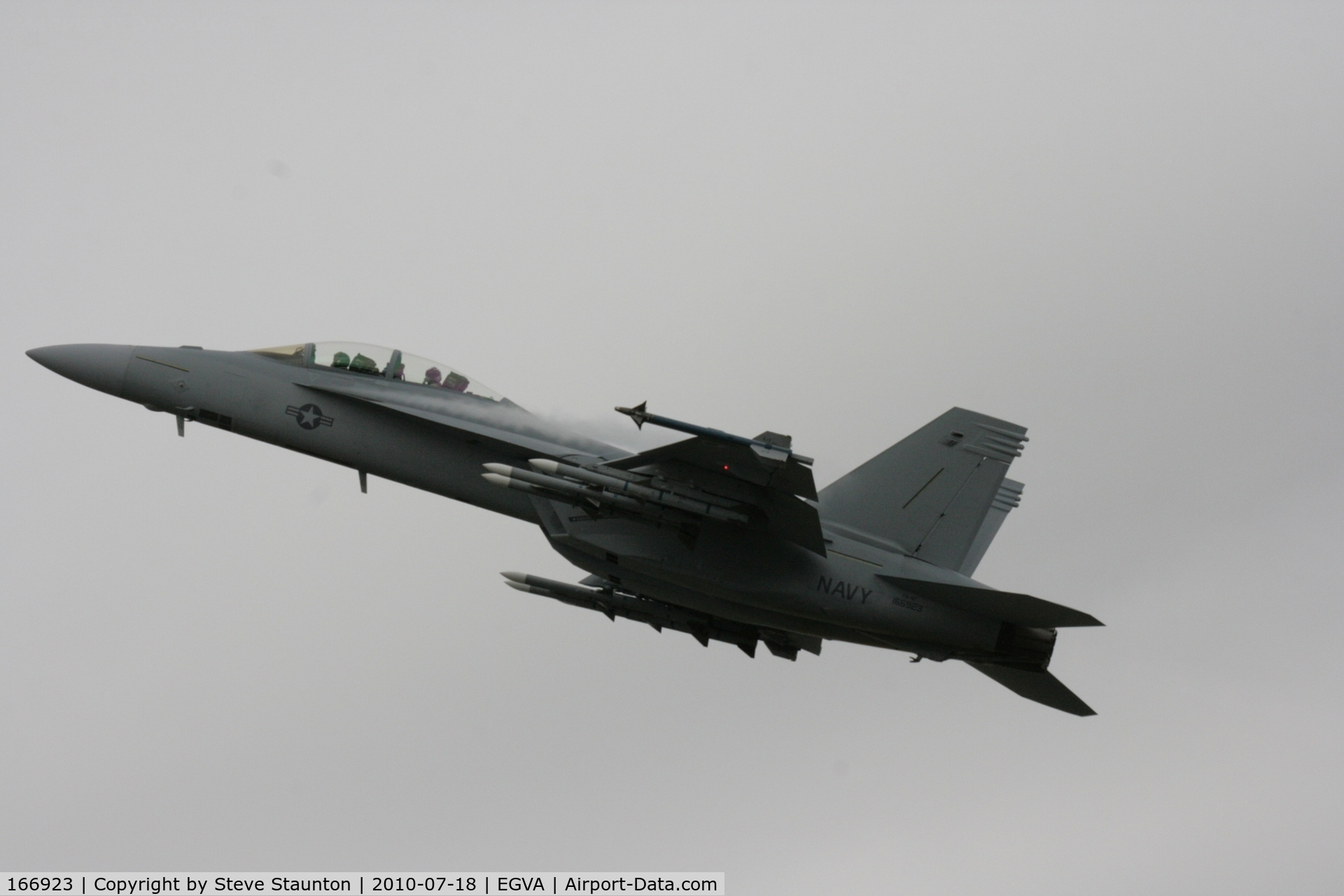 166923, Boeing F/A-18F Super Hornet C/N F063, Taken at the Royal International Air Tattoo 2010