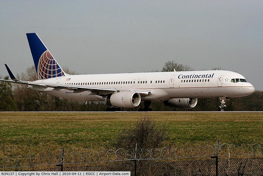 N34137, 1999 Boeing 757-224 C/N 30229, Continental Airlines