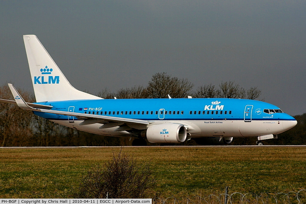PH-BGF, 2008 Boeing 737-7K2 C/N 30365, KLM Royal Dutch Airlines