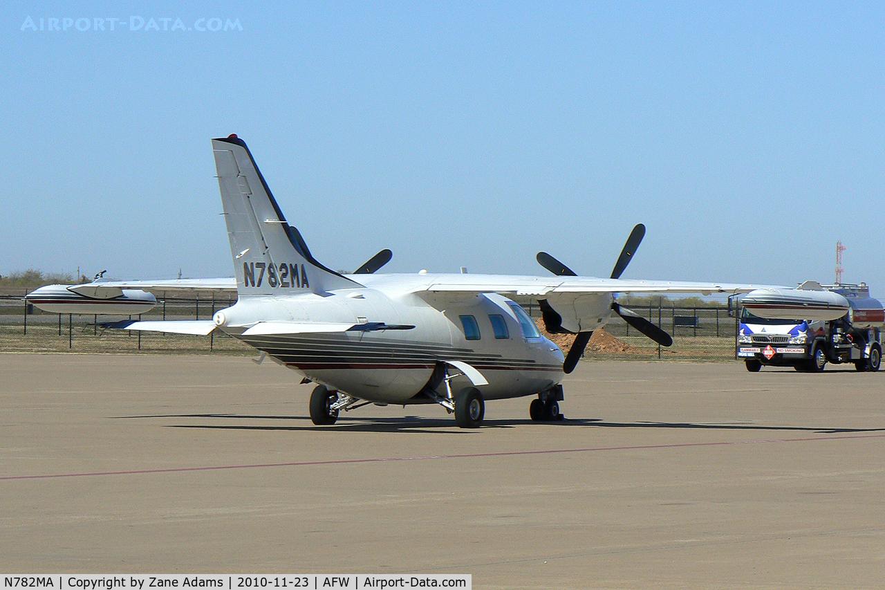 N782MA, 1978 Mitsubishi MU-2B-26A C/N 390SA, At Alliance Airport - Fort Worth, TX