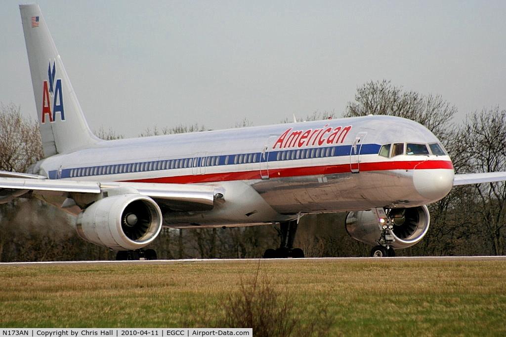 N173AN, 2002 Boeing 757-223 C/N 32399, American Airlines