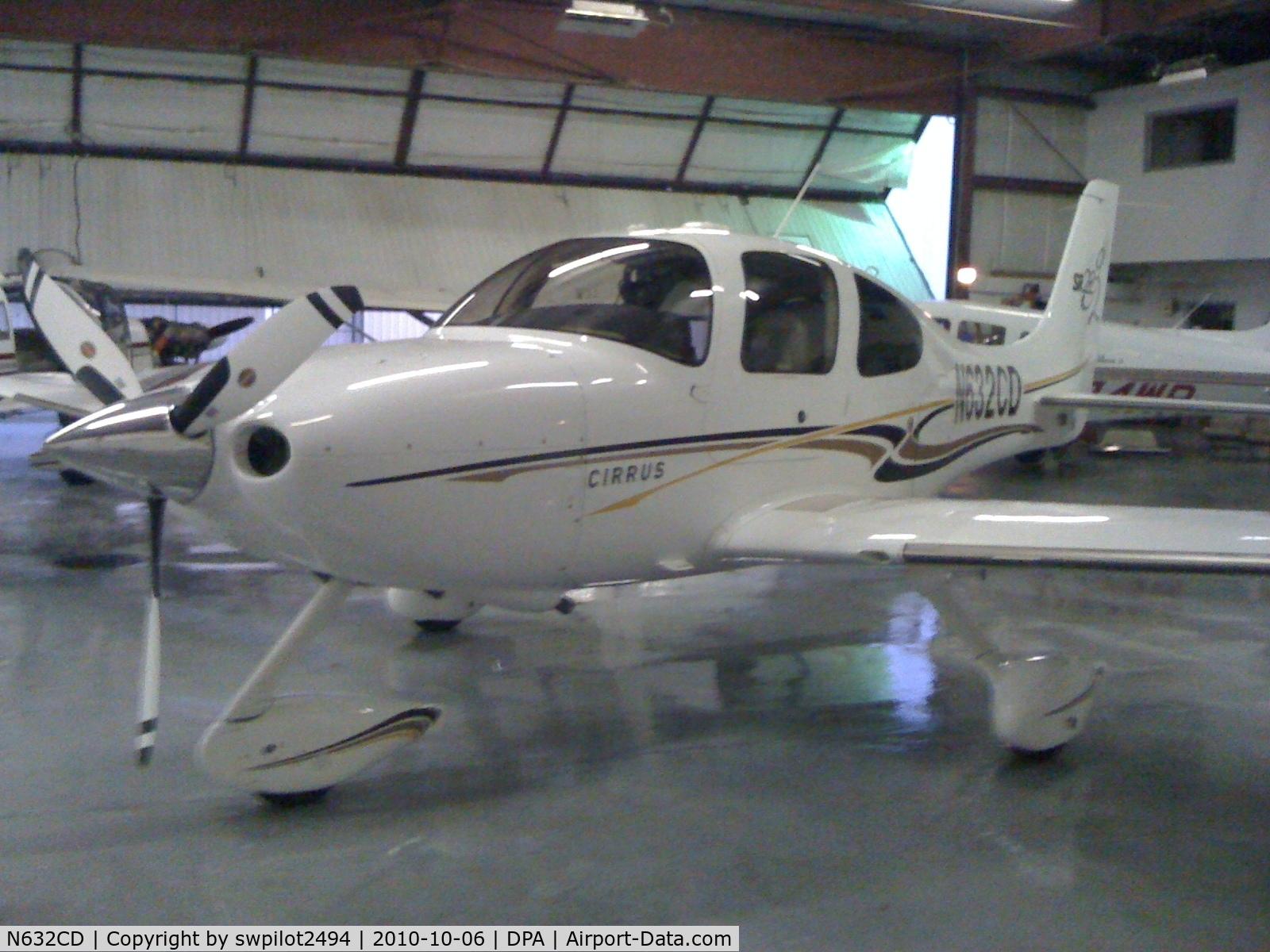 N632CD, 2005 Cirrus SR22 G2 C/N 1641, Cirrus SR-22