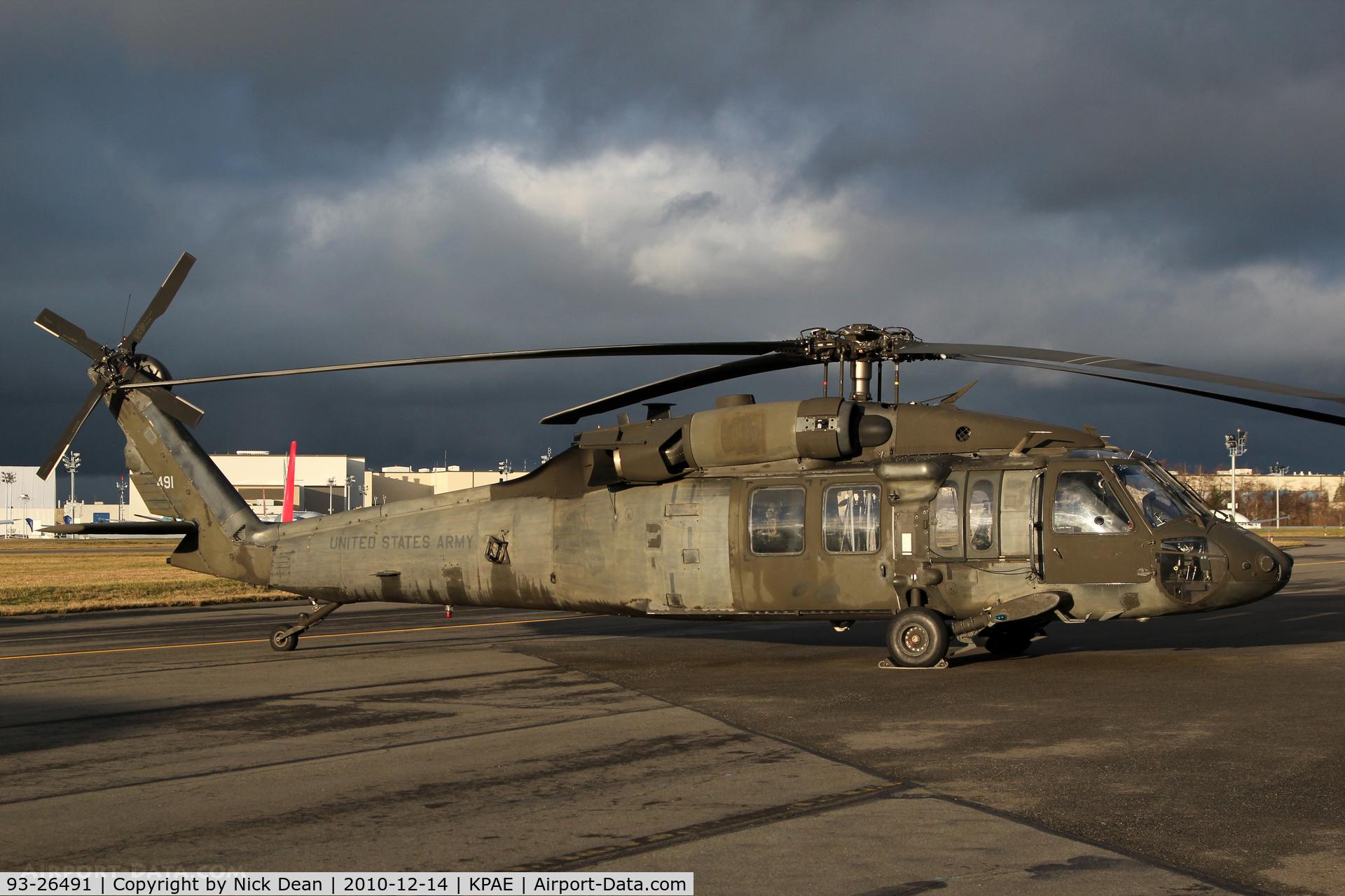 93-26491, 1993 Sikorsky UH-60L Black Hawk C/N Not found 93-26491, KPAE