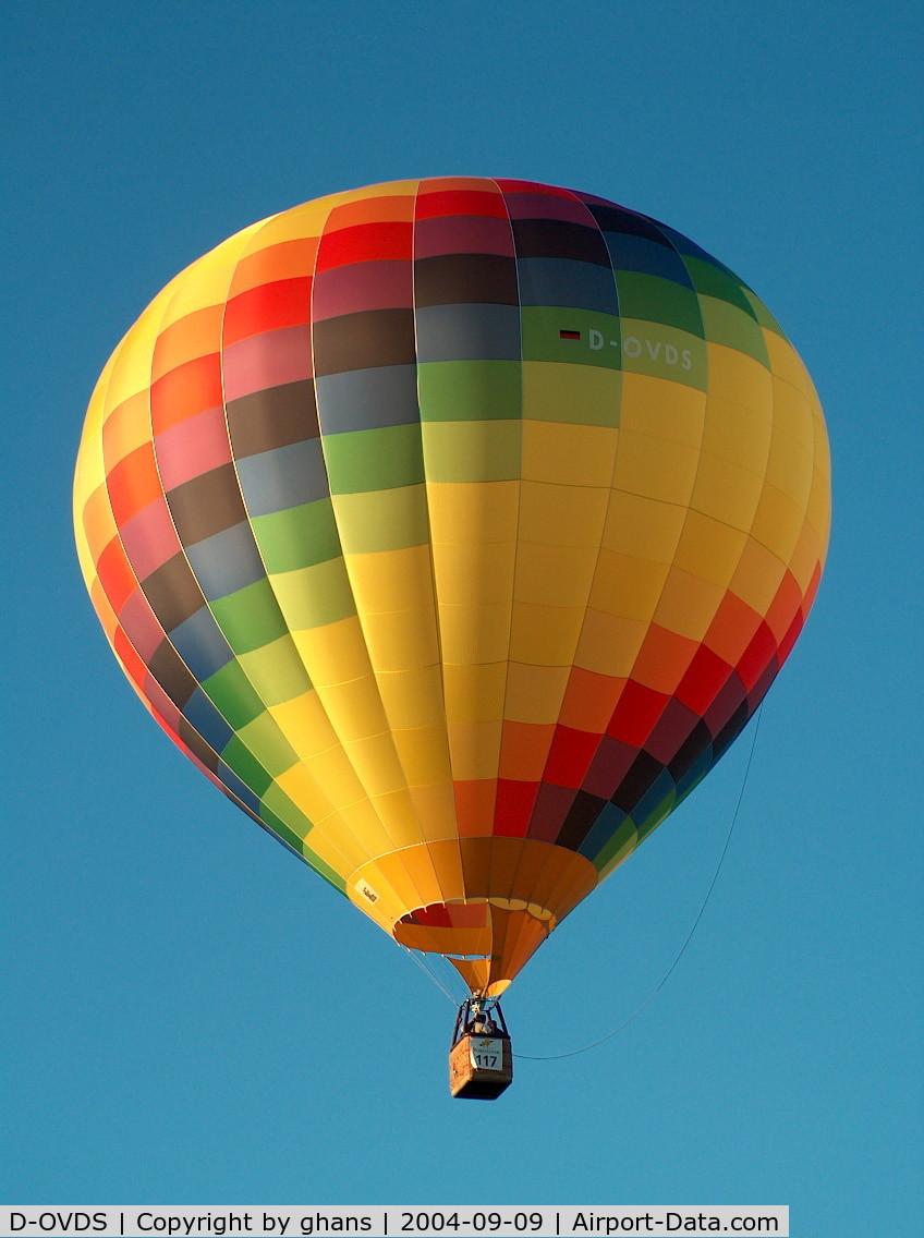 D-OVDS, 2001 Schroeder Fire Balloons G34/2 C/N 889, WIM 2004