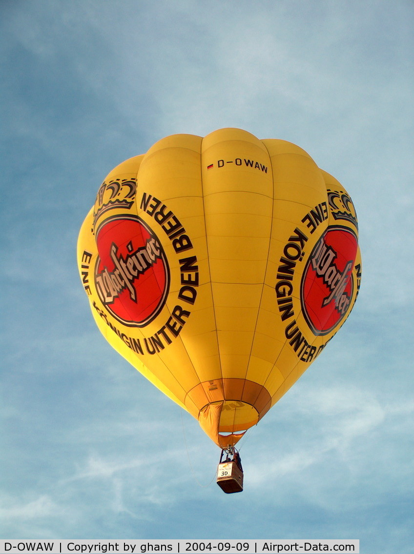 D-OWAW, 1994 Thunder & Colt Balloons AX8-84 C/N 2563, WIM 2004