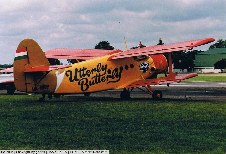 HA-MEP, 1980 Antonov An-2R C/N 1G190-25, Utterly Butterly