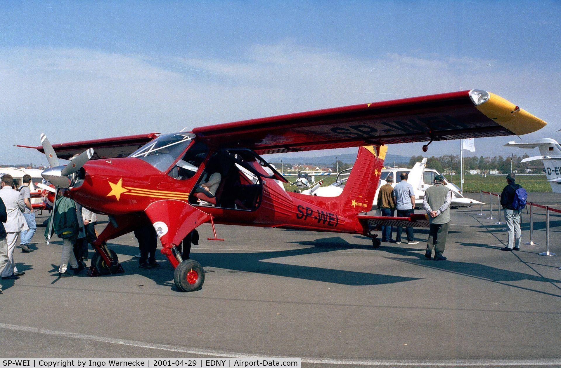 Aircraft SP-WEI (2001 PZL-Okecie PZL-104M Wilga 2000 C/N