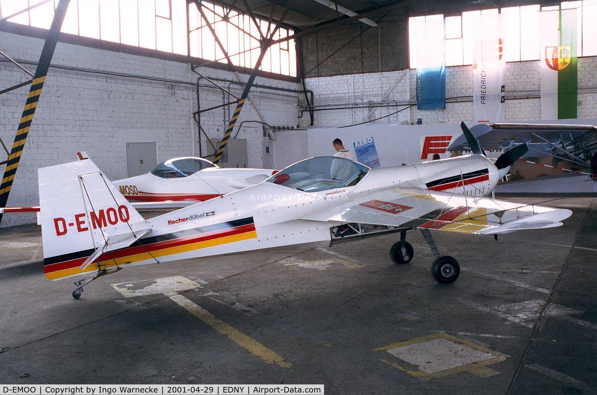 D-EMOO, WDFL Dallach Diablo 2 C/N EB-002, Dallach Diablo 2 at the AERO 2001, Friedrichshafen