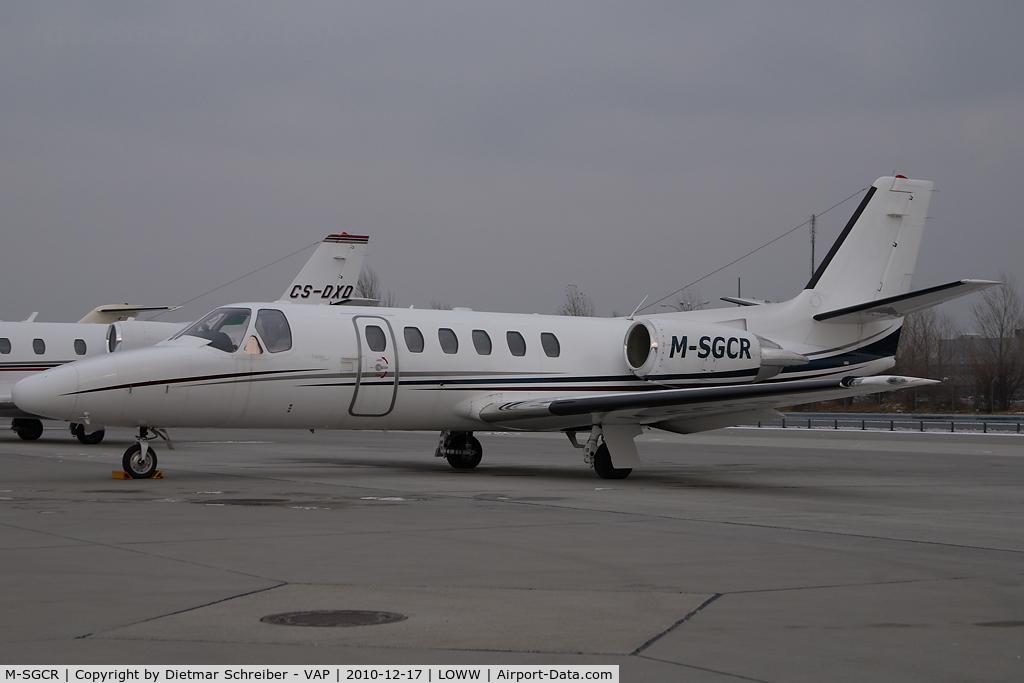 M-SGCR, 1997 Cessna 550 Citation II Bravo C/N 550-0808, Cessna 550