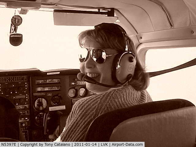 N5397E, 1959 Beech K35 Bonanza C/N D-5896, Women Driver, Duck!