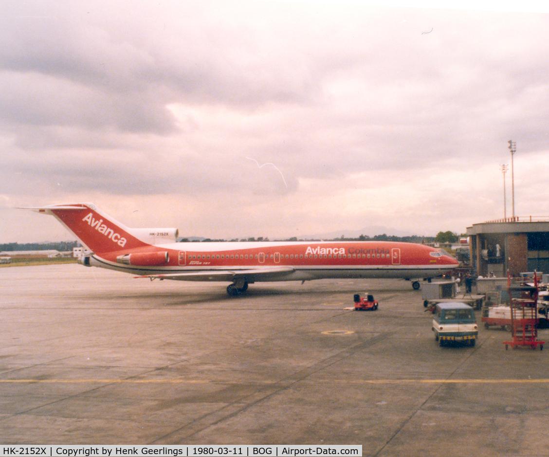 HK-2152X, 1978 Boeing 727-2A1 C/N 21344, Avianca B727 at Bogota