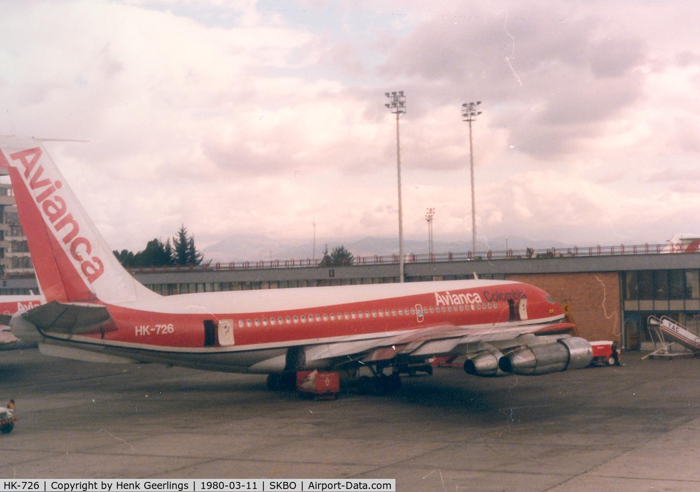 HK-726, 1965 Boeing 720-059B C/N 18831, Avianca , B720