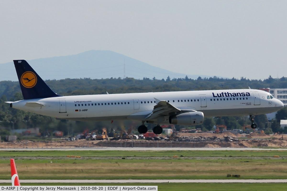 D-AIRP, 1995 Airbus A321-131 C/N 0564, D-AIRP_ Airbus A321-131