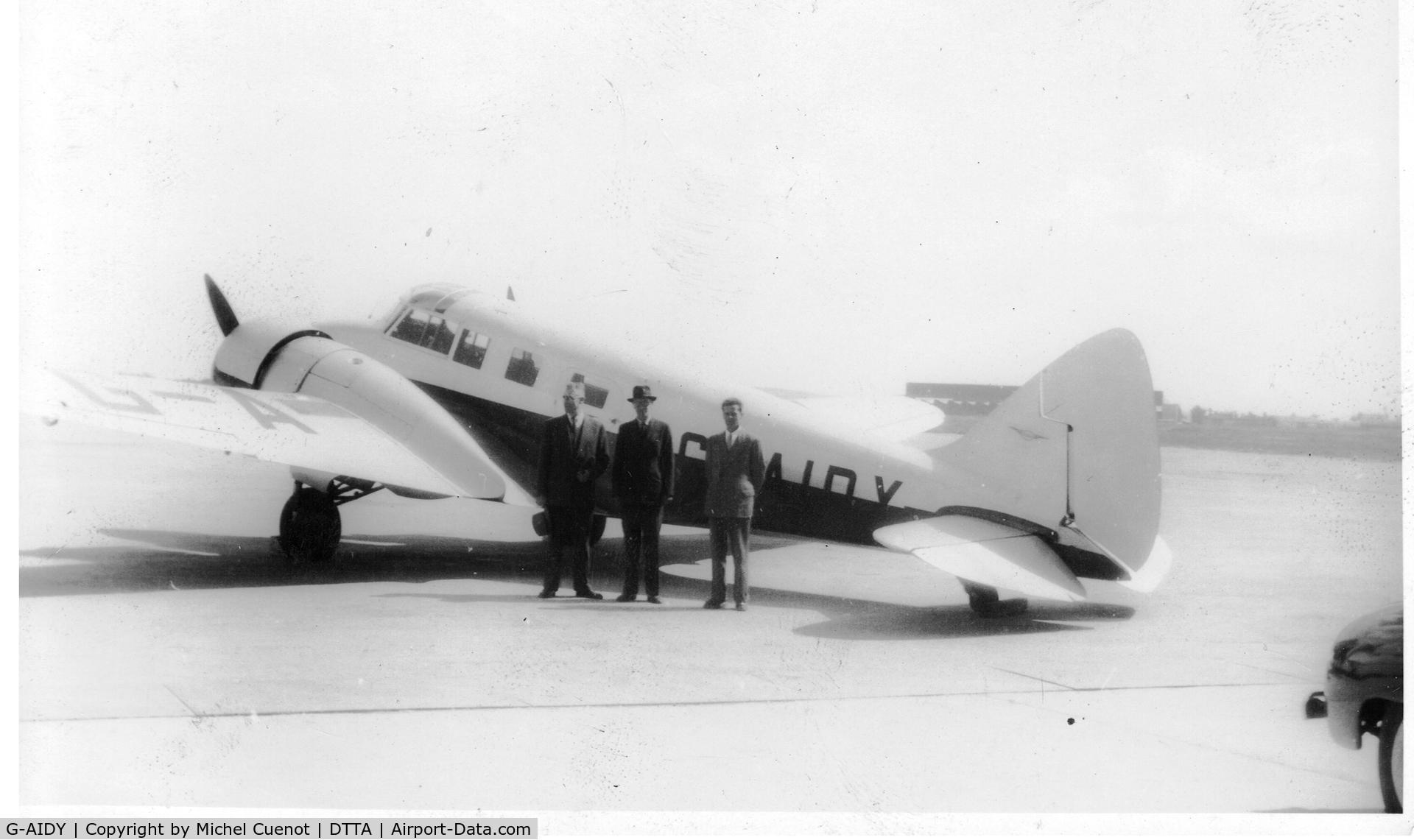 G-AIDY, Airspeed AS.65 Consul C/N 3094, Airspeed cONSUL