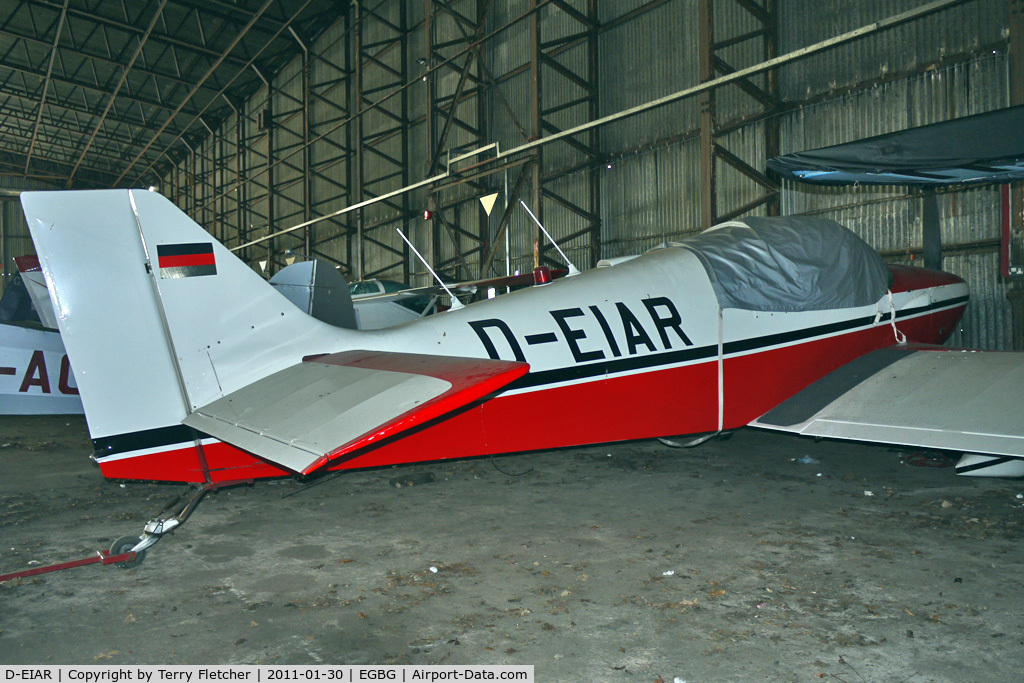 D-EIAR, 1967 Jodel DR-250-160 Capitaine C/N 98, 1967 Centre Est Aeronautique JODEL DR 250 160 Capitaine, c/n: 98 at Leicester