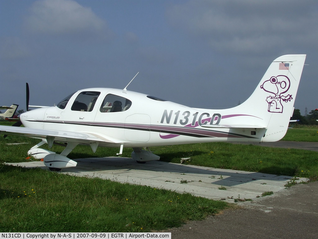 N131CD, 2000 Cirrus Design Corp SR20 C/N 1031, Based at the time