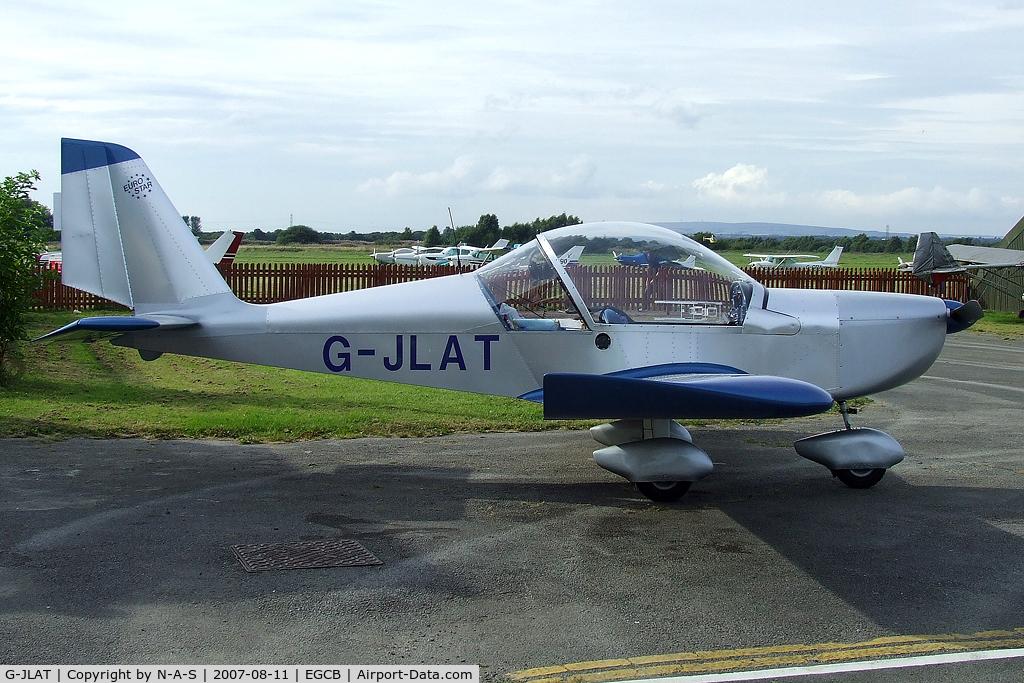 G-JLAT, 2003 Aerotechnik EV-97 Eurostar C/N PFA 315-14068, Based