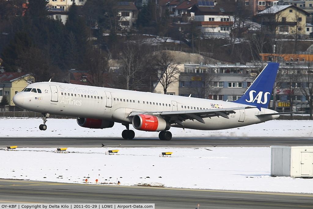 OY-KBF, 2002 Airbus A321-232 C/N 1807, SAS [SK] Rurik Ltd