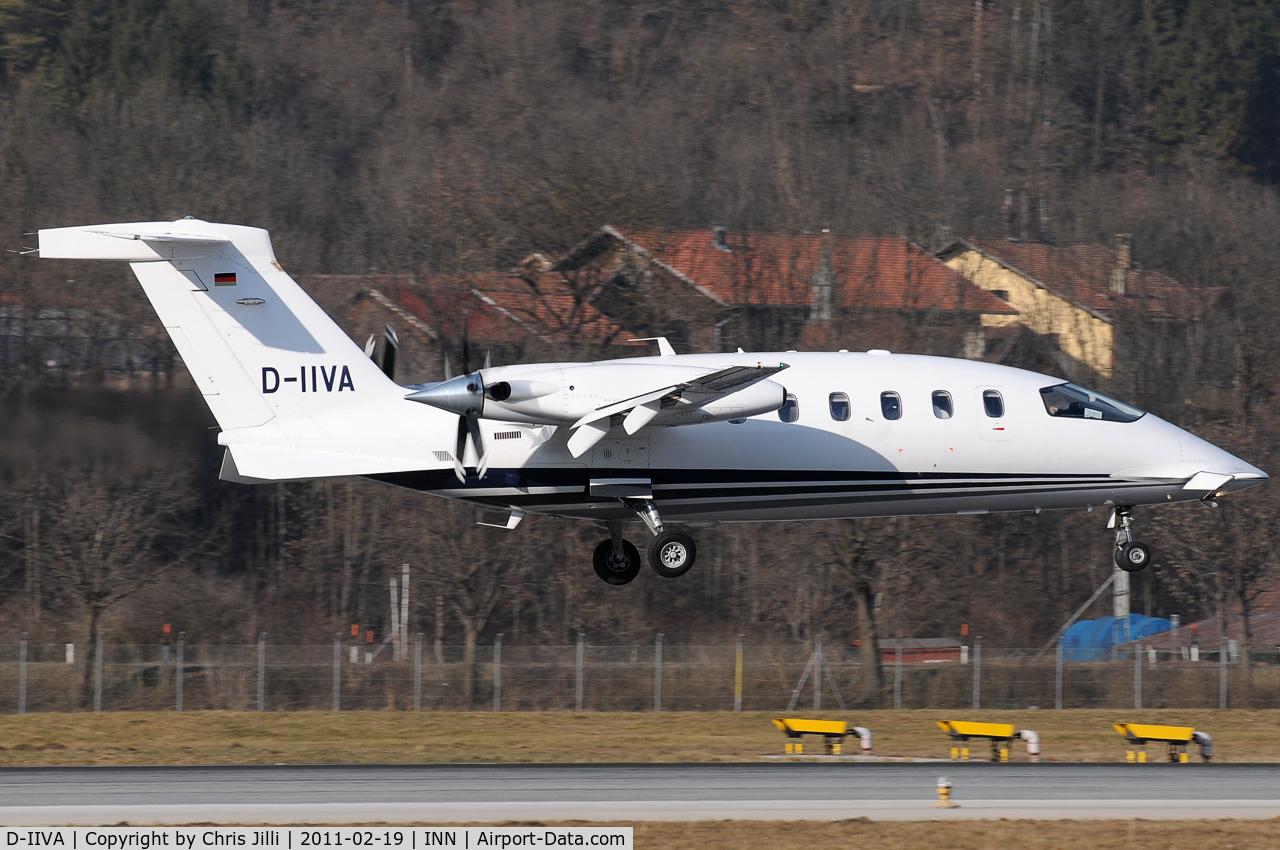 D-IIVA, 2007 Piaggio P-180 Avanti II C/N 1125, D-IIVA