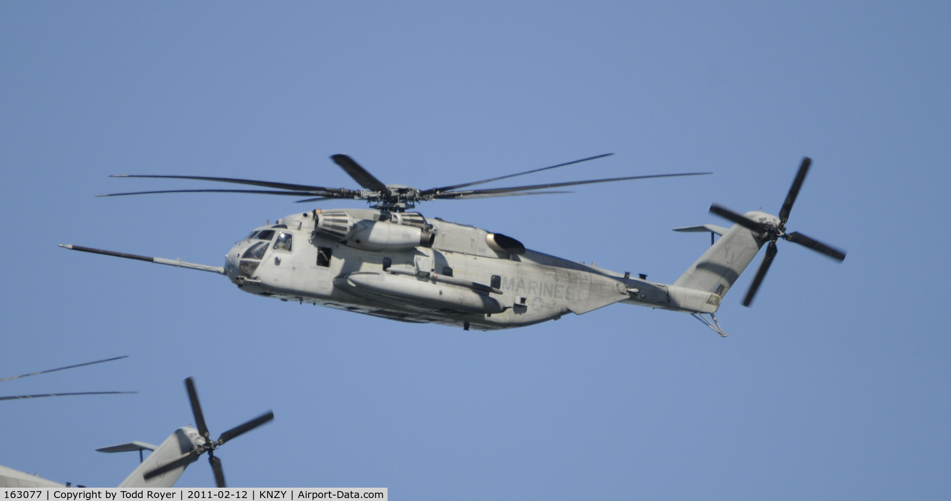 163077, Sikorsky CH-53E Super Stallion C/N 65-568, Centennial of Naval Aviation