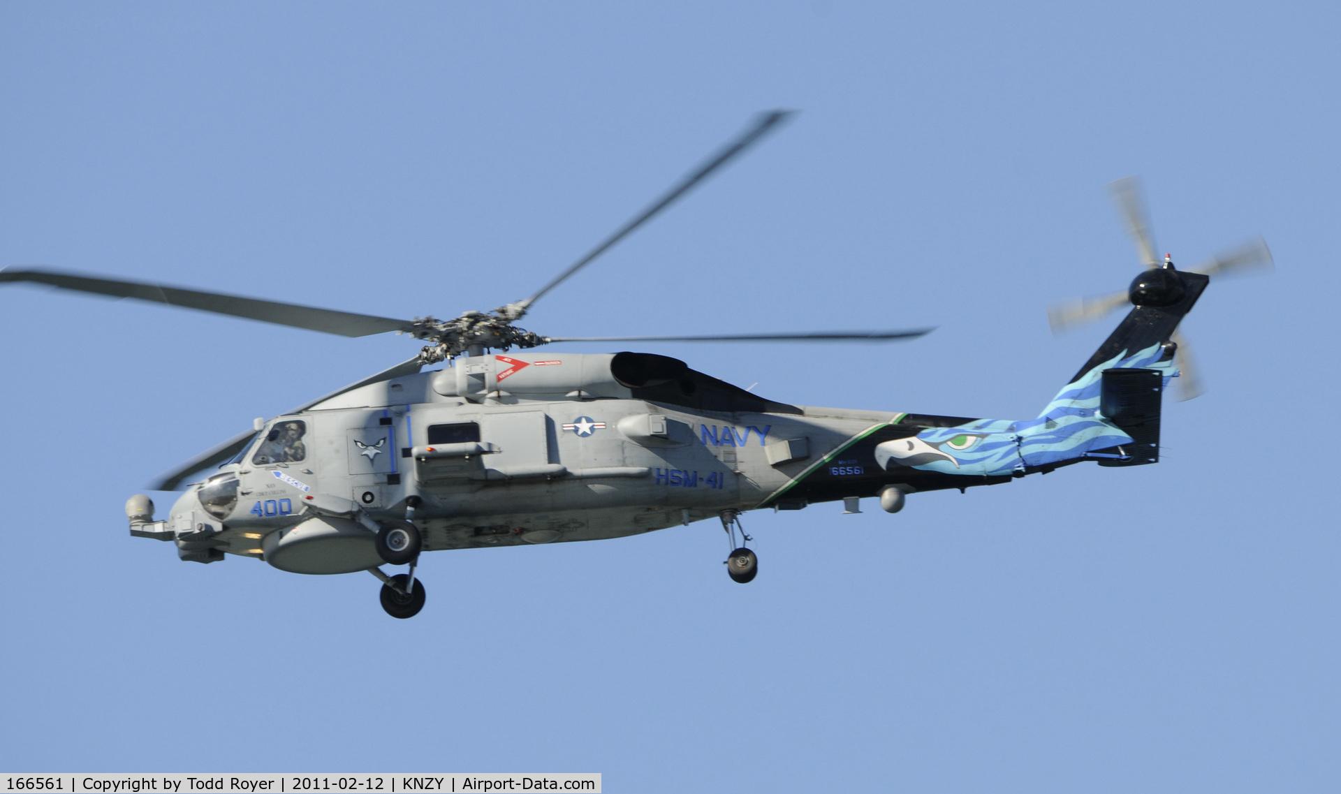 166561, Sikorsky MH-60R Strikehawk C/N 70-3116, Centennial of Naval Aviation