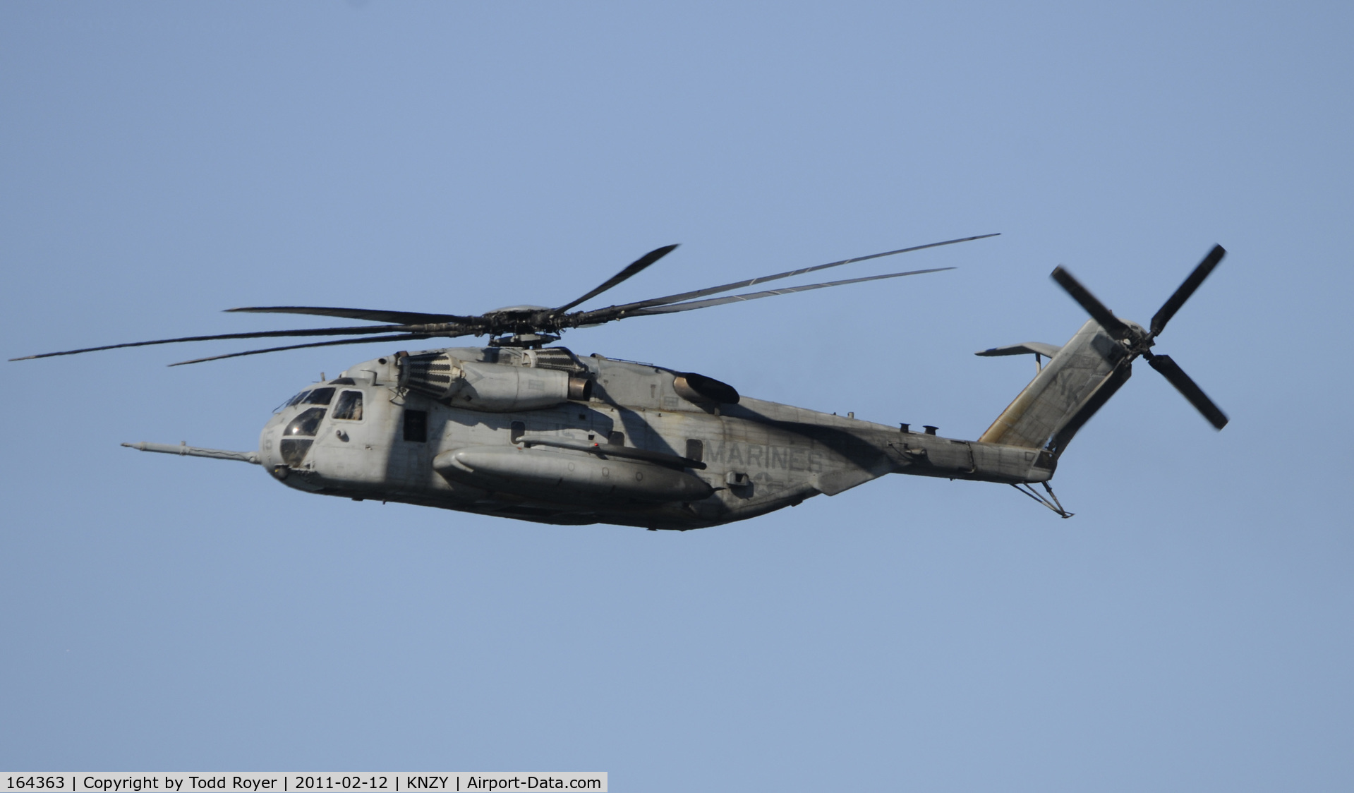 164363, Sikorsky CH-53E Super Stallion C/N 65-592, Centennial of Naval Aviation