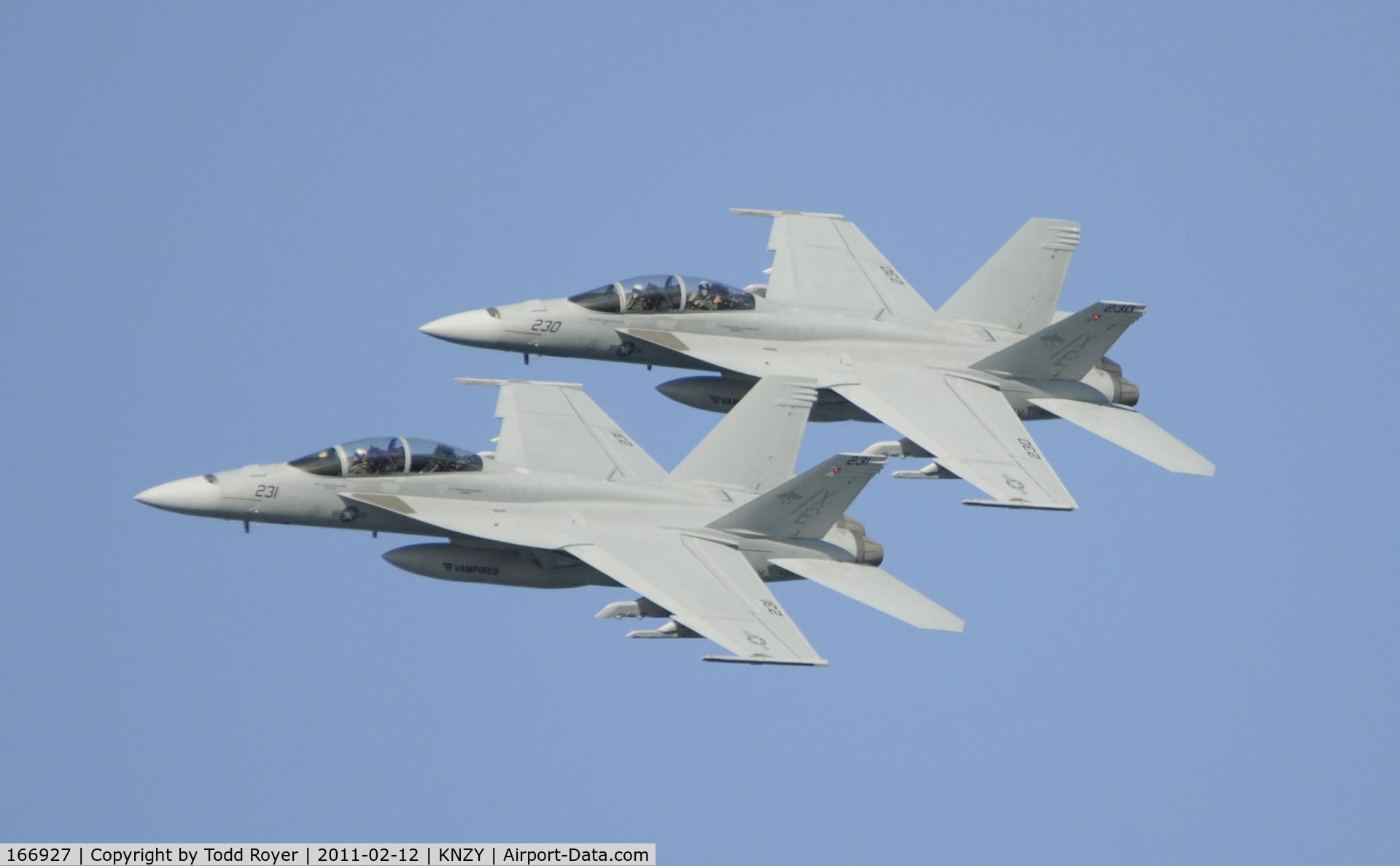166927, Boeing F/A-18F Super Hornet C/N F183, Centennial of Naval Aviation