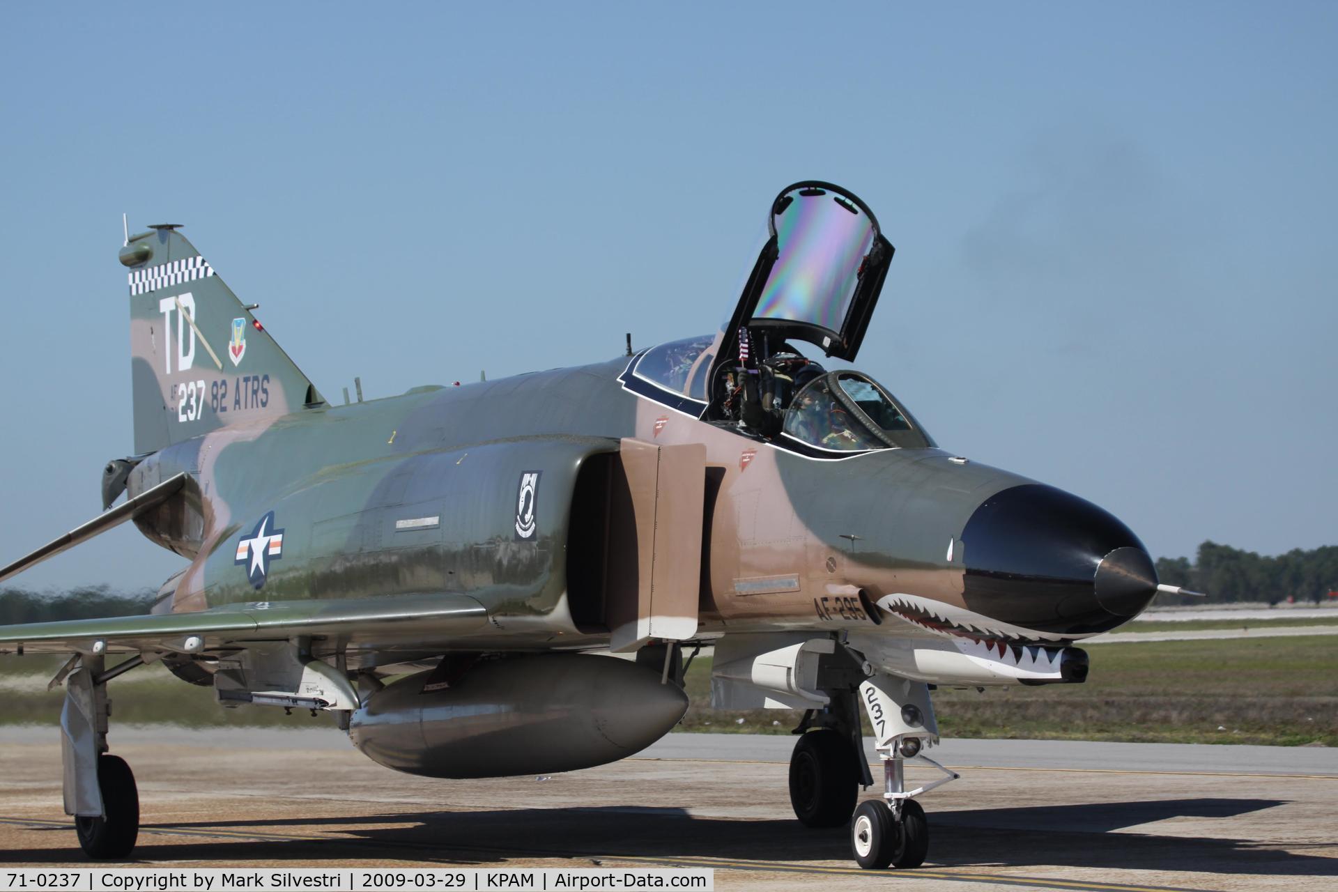 71-0237, 1971 McDonnell Douglas QF-4E Phantom II C/N 4225, Tyndall 2009