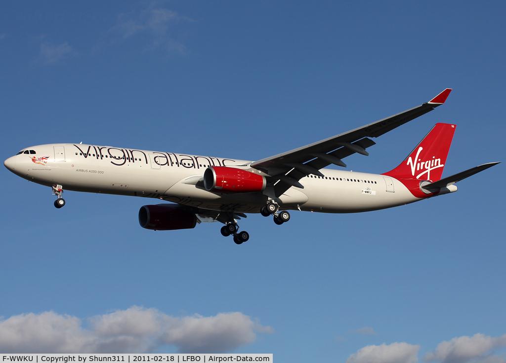 F-WWKU, 2010 Airbus A330-343X C/N 1201, C/n 1201 - To be G-VKSS