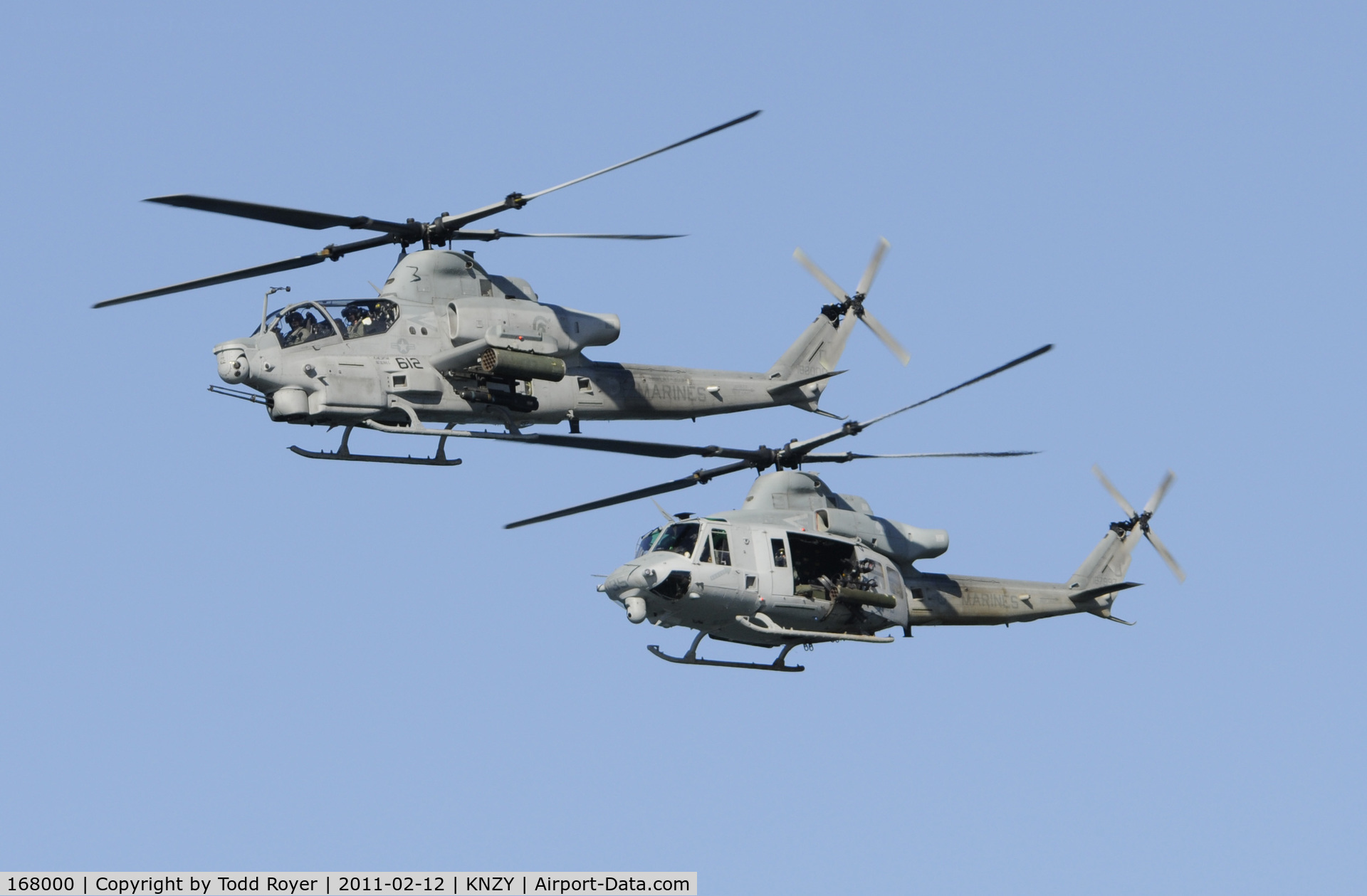 168000, Bell AH-1Z Viper C/N 59012, Centennial of Naval Aviation