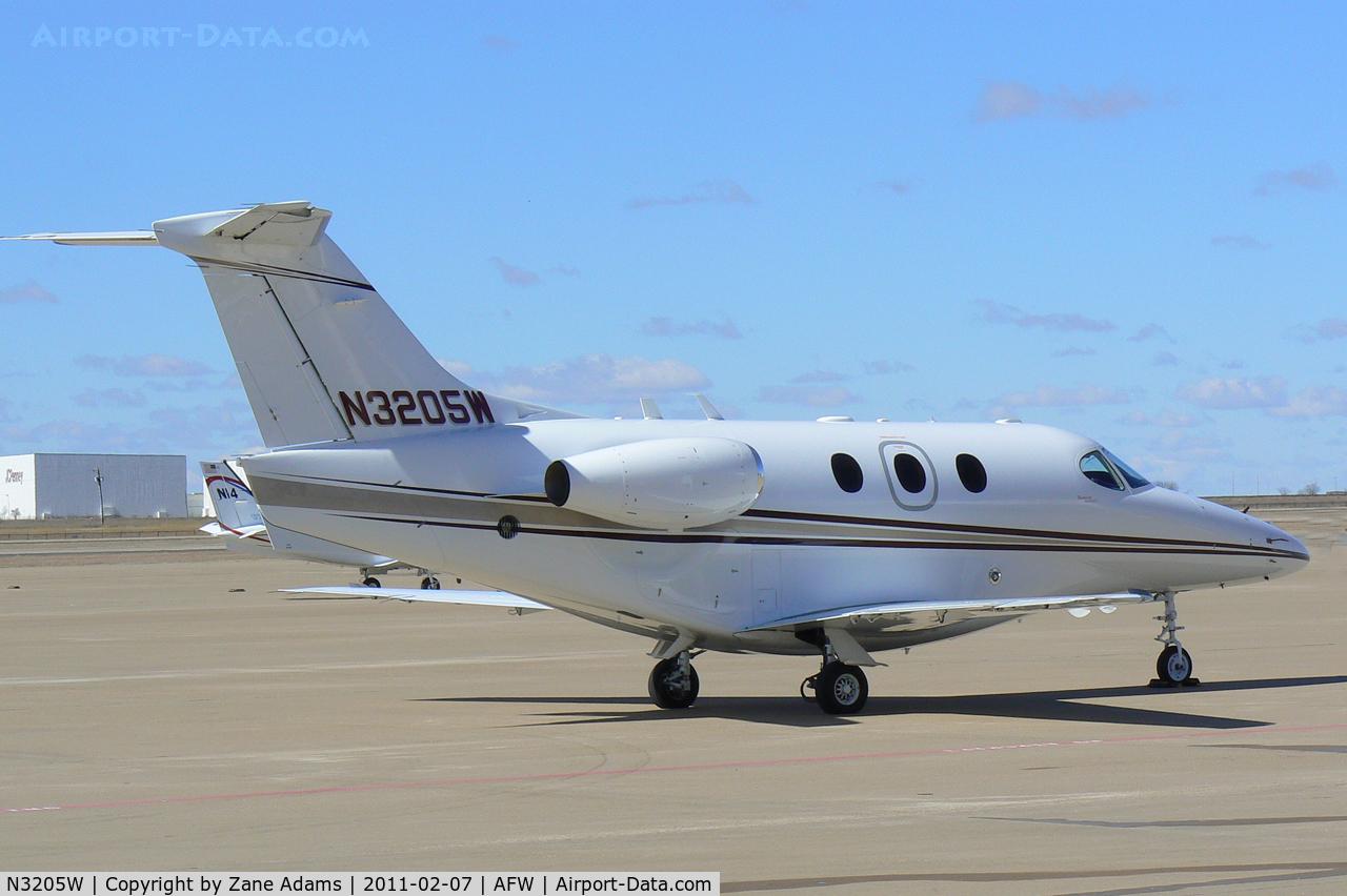 N3205W, 2007 Hawker Beechcraft 390 Premier 1A C/N RB-225, At Alliance Airport - Fort Worth. TX
