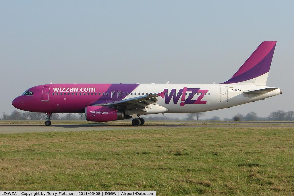 LZ-WZA, Airbus A320-232 C/N 2571, Wizz Air Airbus A320-232, c/n: 2571 at Luton