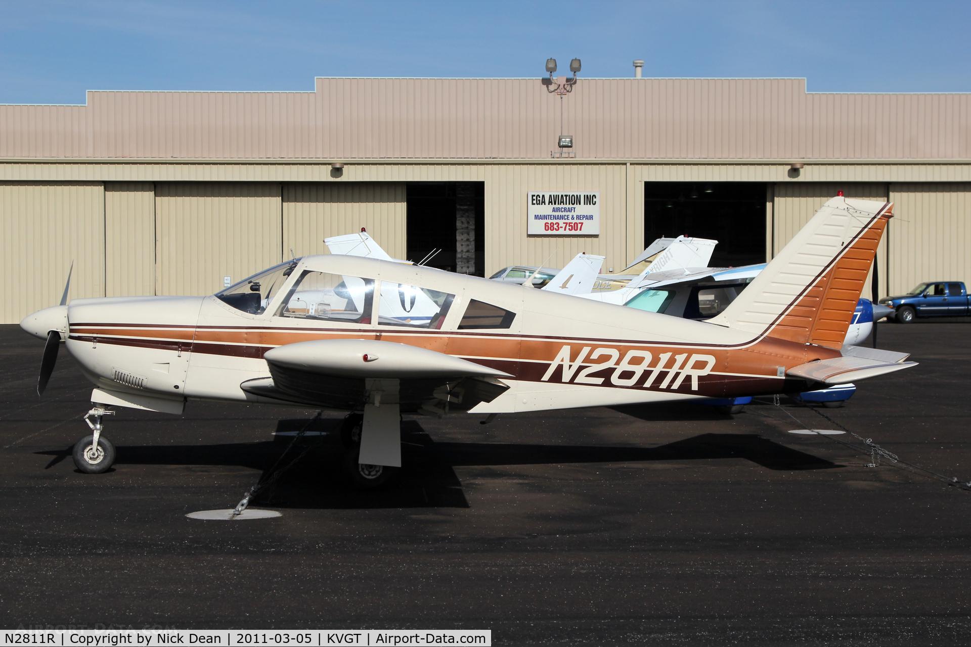 N2811R, 1969 Piper PA-28R-200 C/N 28R-35296, KVGT