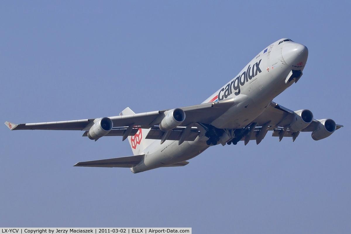 LX-YCV, 2008 Boeing 747-4R7F/SCD C/N 35805/1407, LX-YCV_ Boeing 747-4R7F/