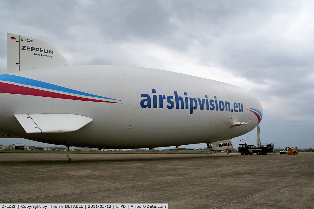 D-LZZF, 1998 Zeppelin LZ-N07 C/N 3, Operation : Nuclear cartography of PARIS