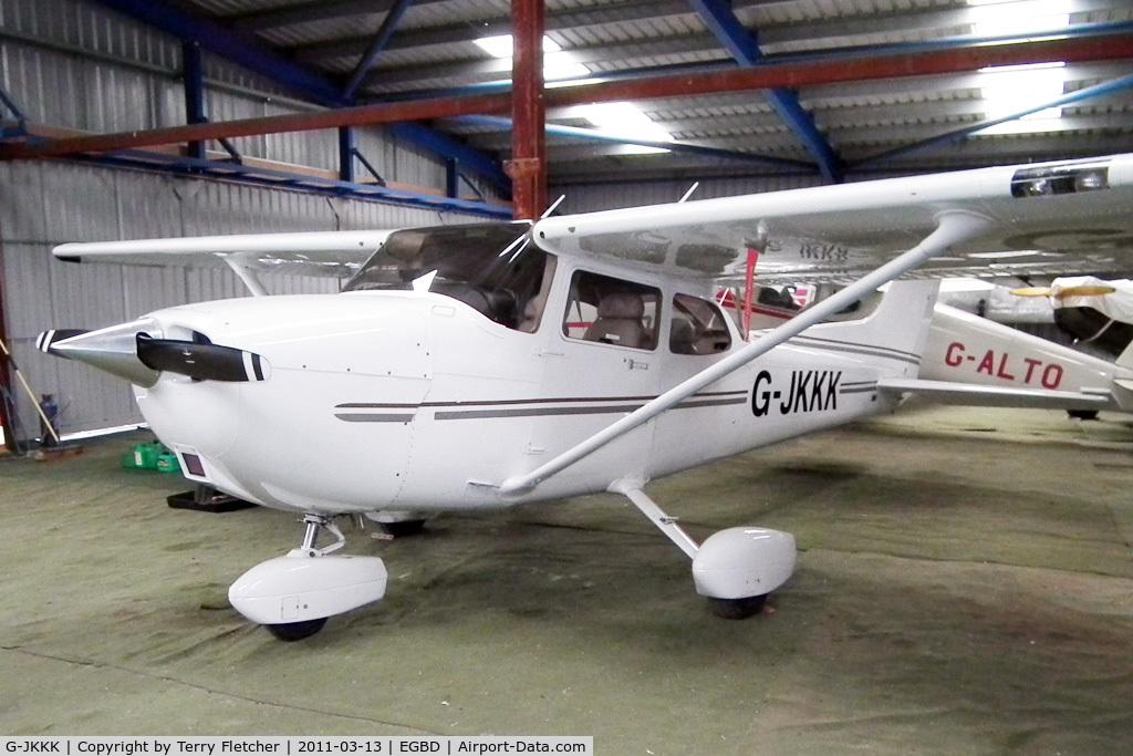 G-JKKK, 2008 Cessna 172S Skyhawk C/N 172S10663, 2008 Cessna 172S Skyhawk SP, c/n: 172S-10663 at Eggington