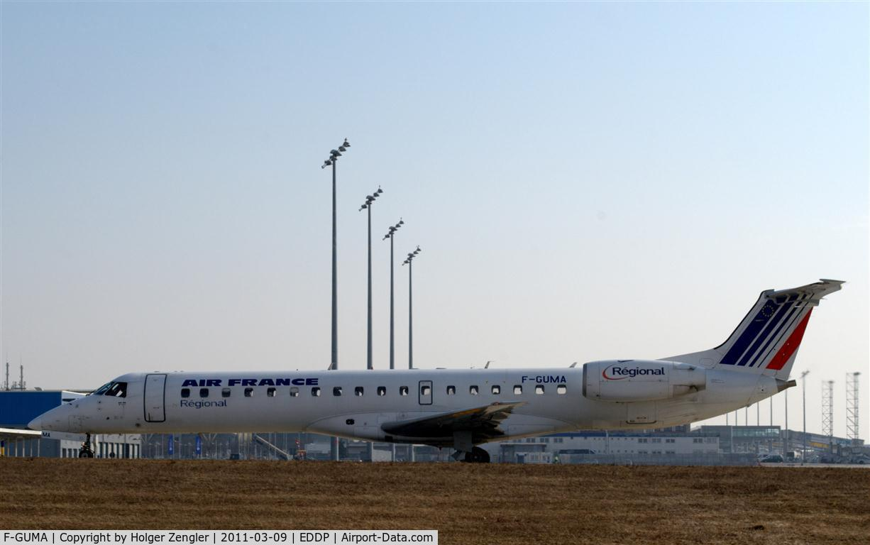 F-GUMA, Embraer EMB-145MP (ERJ-145MP) C/N 145405, AFR 1417, the morning shuttle to CDG.
